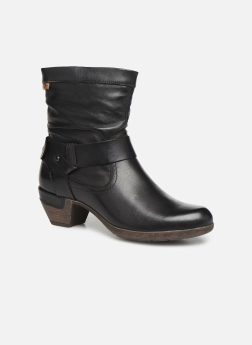 Ankle boots Pikolinos Rotterdam 902-8890 Black detailed view/ Pair view