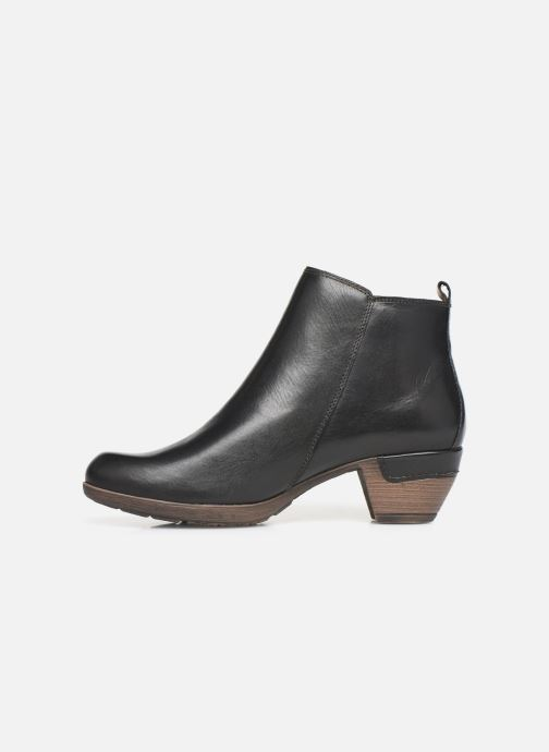Bottines et boots Pikolinos Rotterdam 902-8900 Noir vue face