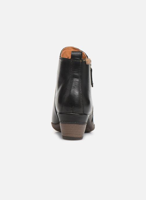 Bottines et boots Pikolinos Rotterdam 902-8900 Noir vue droite