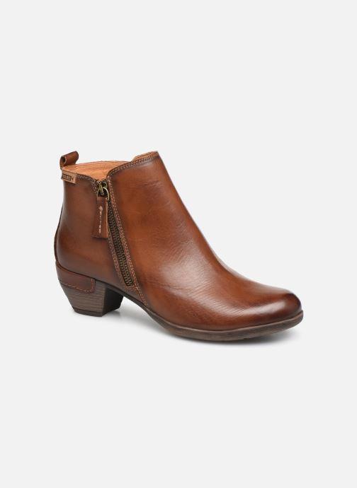 Boots en enkellaarsjes Pikolinos Rotterdam 902-8900 Bruin detail