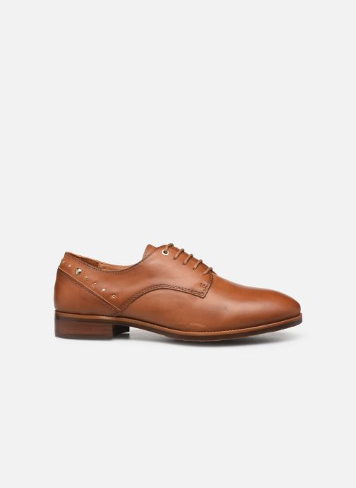 Lace-up shoes Pikolinos Royal W4D-4904 Brown back view