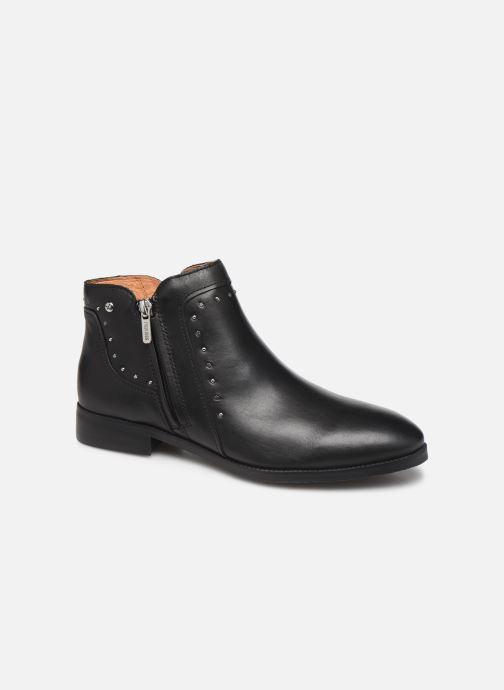 Ankle boots Pikolinos Royal W4D-8415 Black detailed view/ Pair view