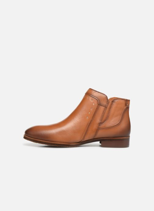 Ankle boots Pikolinos Royal W4D-8415 Brown front view