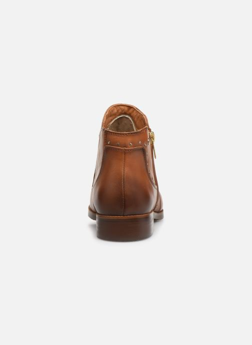 Ankle boots Pikolinos Royal W4D-8415 Brown view from the right