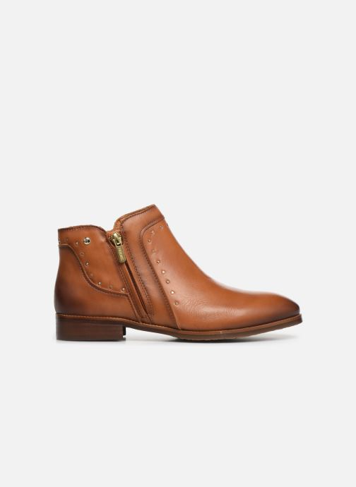 Ankle boots Pikolinos Royal W4D-8415 Brown back view