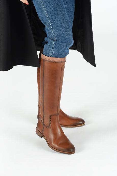 Stiefel Pikolinos Royal W4D-9635C1 braun ansicht von unten / tasche getragen