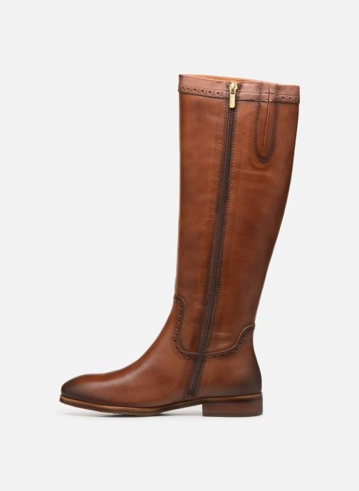 Boots & wellies Pikolinos Royal W4D-9635C1 Brown front view