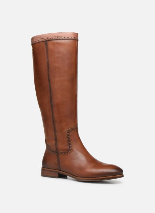 Boots & wellies Pikolinos Royal W4D-9635C1 Brown detailed view/ Pair view