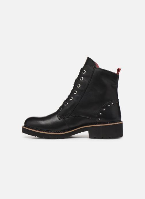 Boots en enkellaarsjes Pikolinos Vicar W0V-8610 Zwart voorkant