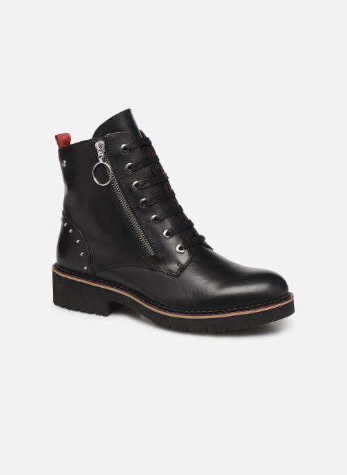 Boots en enkellaarsjes Pikolinos Vicar W0V-8610 Zwart detail