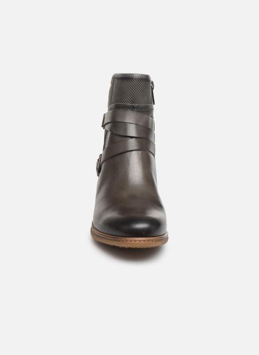 Bottines et boots Pikolinos Zaragoza W9H-8907 Gris vue portées chaussures