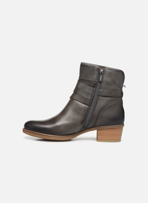 Ankle boots Pikolinos Zaragoza W9H-8907 Grey front view