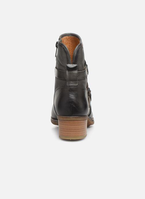 Boots en enkellaarsjes Pikolinos Zaragoza W9H-8907 Grijs rechts