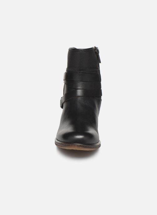 Ankle boots Pikolinos Zaragoza W9H-8907 Black model view