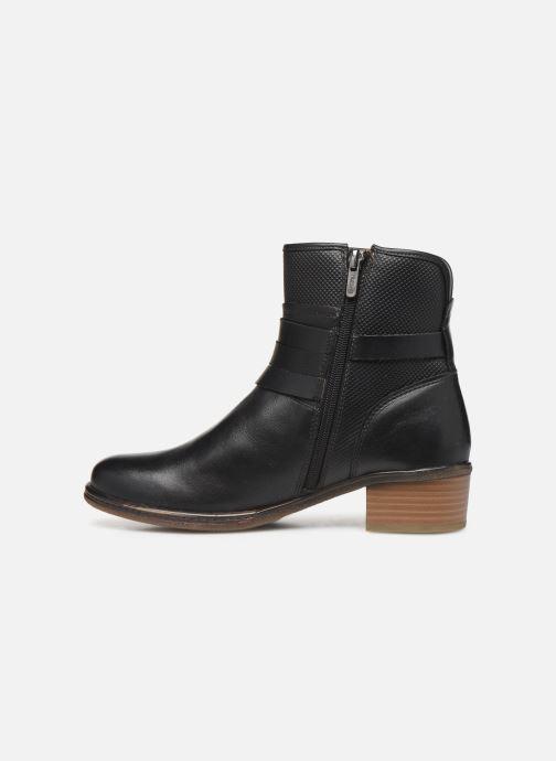 Boots en enkellaarsjes Pikolinos Zaragoza W9H-8907 Zwart voorkant