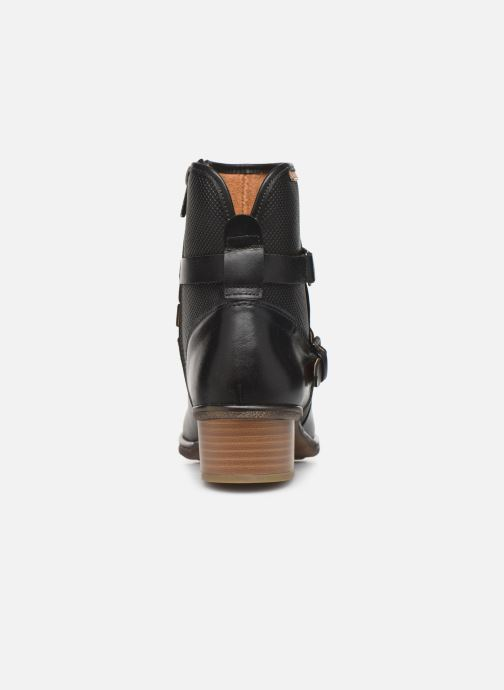 Boots en enkellaarsjes Pikolinos Zaragoza W9H-8907 Zwart rechts