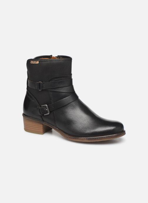 Boots en enkellaarsjes Pikolinos Zaragoza W9H-8907 Zwart detail
