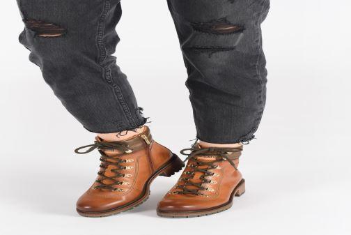Bottines et boots Pikolinos Aspe W9Z-8634C1 Marron vue bas / vue portée sac