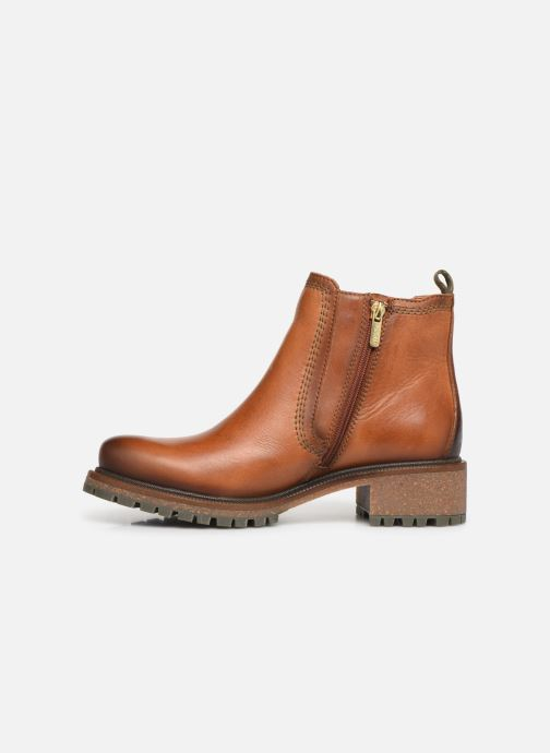 Ankle boots Pikolinos Aspe W9Z-8633 Brown front view