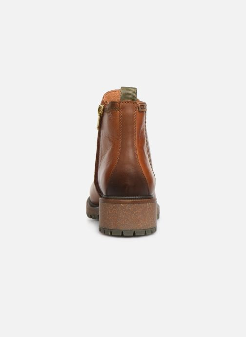 Ankle boots Pikolinos Aspe W9Z-8633 Brown view from the right