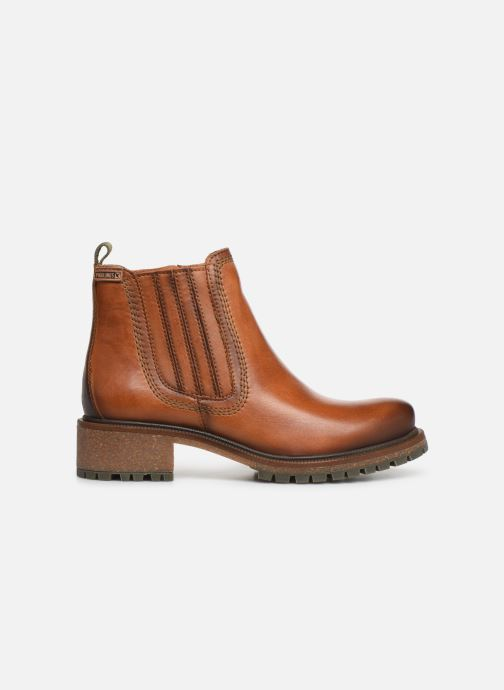 Ankle boots Pikolinos Aspe W9Z-8633 Brown back view