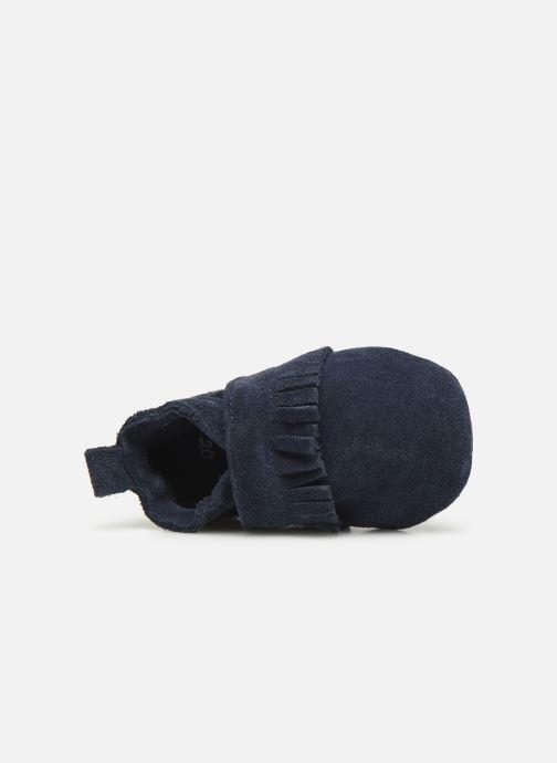 Pantuflas Patt'touch Maxence Slipper Azul vista lateral izquierda