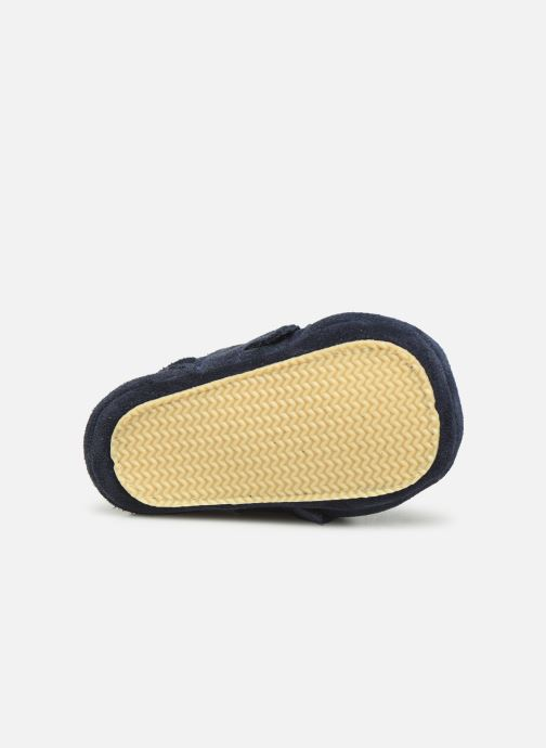 Slippers Patt'touch Maxence Slipper Blue view from above
