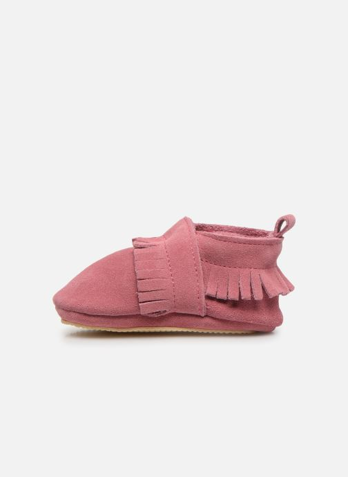 Chaussons Patt'touch Maxence Slipper Rose vue face