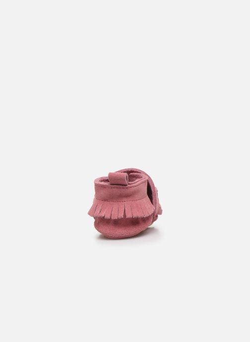 Hausschuhe Patt'touch Maxence Slipper rosa ansicht von rechts