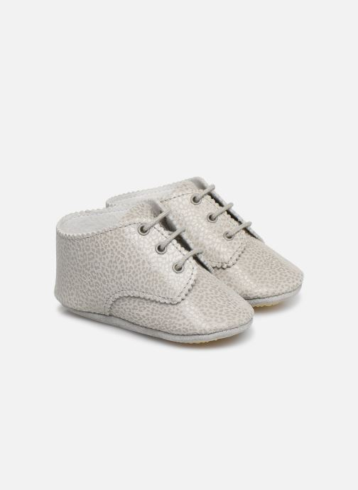 Slippers Patt'touch Ange Derby Grey detailed view/ Pair view