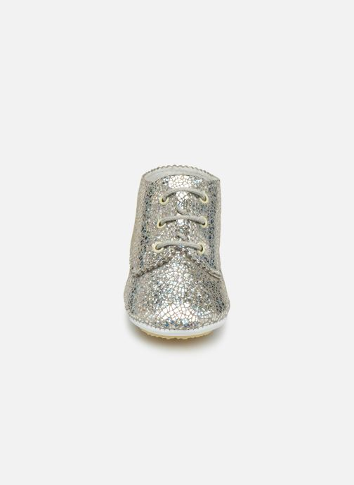 Slippers Patt'touch Ange Derby Silver model view