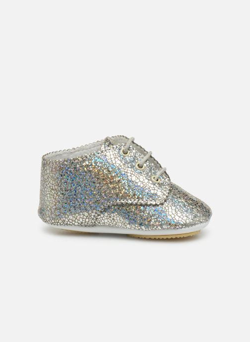 Slippers Patt'touch Ange Derby Silver back view