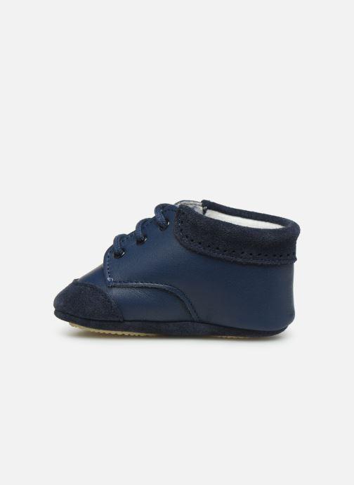 Slippers Patt'touch Loan Berby Bi-matière Blue front view