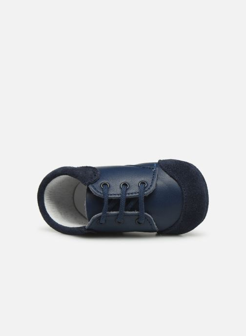 Slippers Patt'touch Loan Berby Bi-matière Blue view from the left