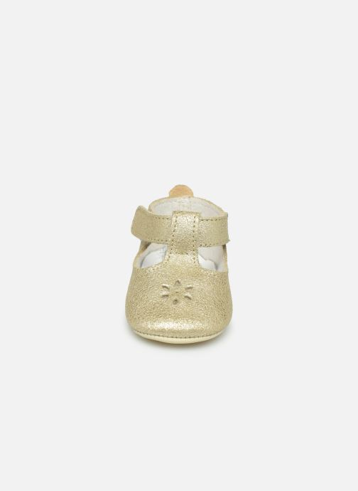 Slippers Patt'touch Mae Salome Bronze and Gold model view