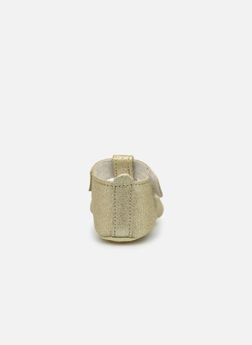 Pantoffels Patt'touch Mae Salome Goud en brons rechts