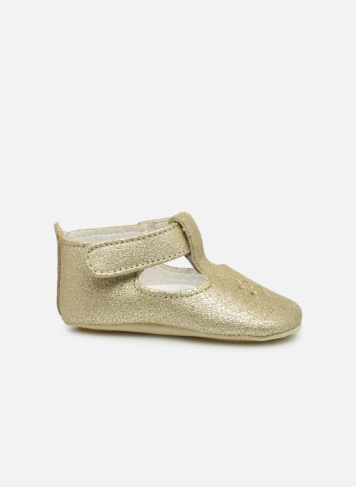 Slippers Patt'touch Mae Salome Bronze and Gold back view