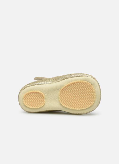 Pantoffels Patt'touch Mae Salome Goud en brons boven