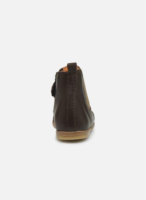 Botines  Patt'touch Mahe Boots Marrón vista lateral derecha