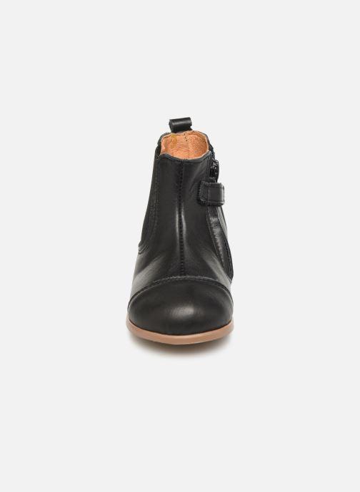 Bottines et boots Patt'touch Mahe Boots Noir vue portées chaussures