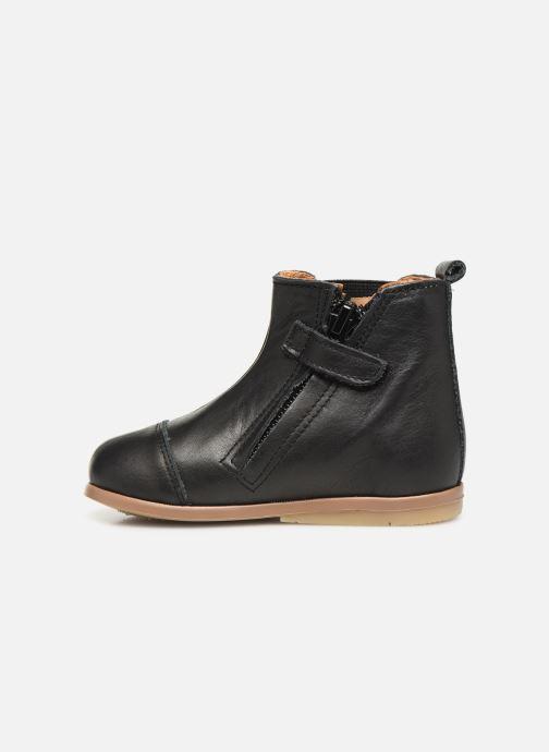 Bottines et boots Patt'touch Mahe Boots Noir vue face