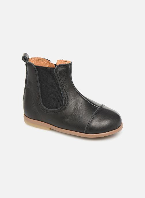 Bottines et boots Patt'touch Mahe Boots Noir vue détail/paire