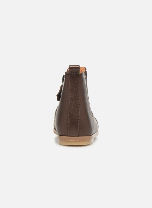 Ankle boots Patt'touch Mahe Boots Bronze and Gold view from the right