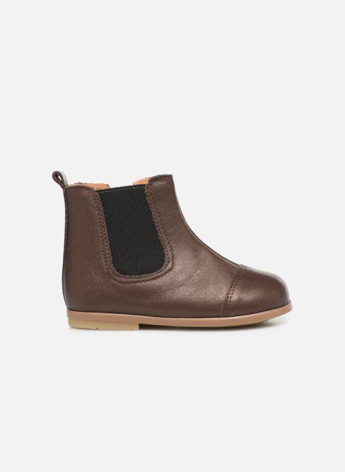 Bottines et boots Patt'touch Mahe Boots Or et bronze vue derrière