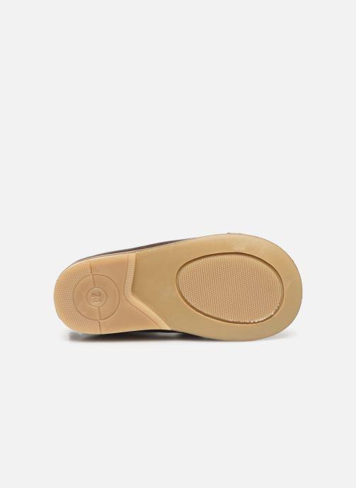 Bottines et boots Patt'touch Mahe Boots Or et bronze vue haut