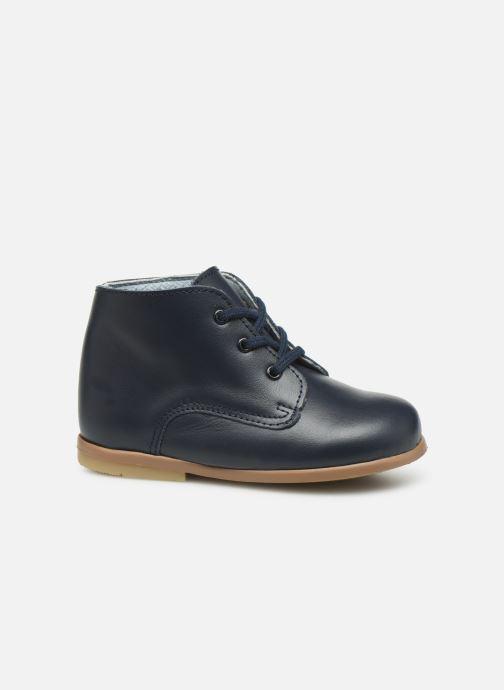 Bottines et boots Patt'touch Désiré Derby Bleu vue derrière