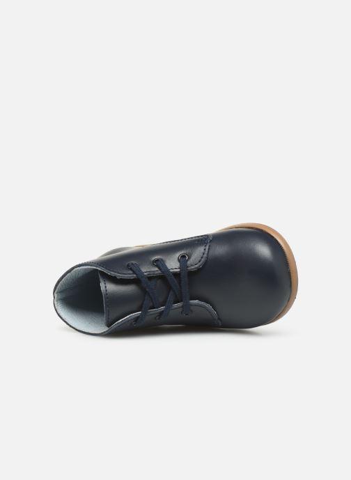 Bottines et boots Patt'touch Désiré Derby Bleu vue gauche
