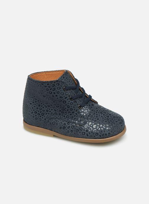 Bottines et boots Patt'touch Désiré Derby Bleu vue détail/paire