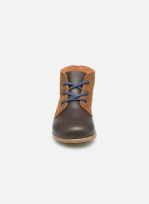 Bottines et boots Patt'touch Désiré Derby Marron vue portées chaussures