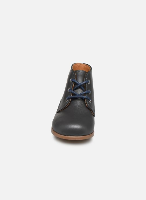 Bottines et boots Patt'touch Désiré Derby Gris vue portées chaussures